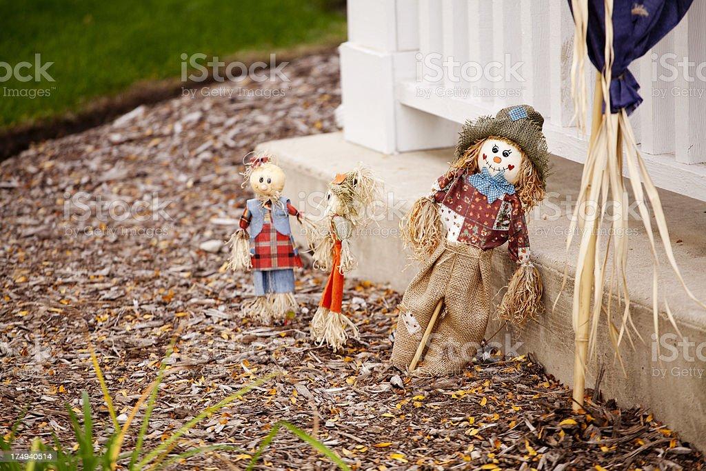 Scarecrow royalty-free stock photo