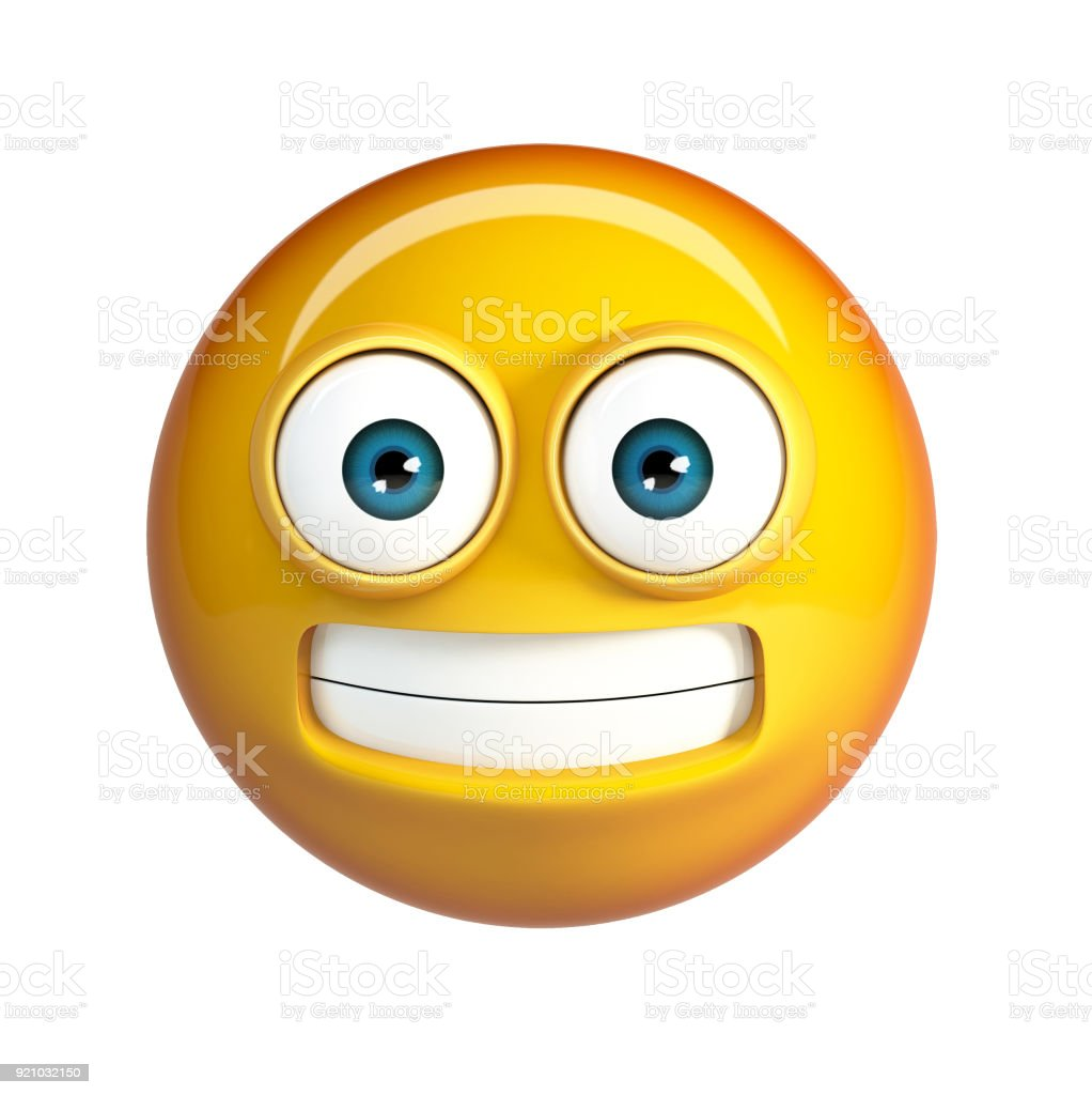 Scared Emoji Ugh Face Emoticon Stock Photo More Pictures Of