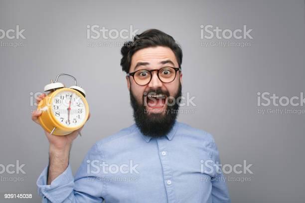 Scared man with alarm clock picture id939145038?b=1&k=6&m=939145038&s=612x612&h=unbqba fwyge5pe2jcgx ozfsbhh6faojbk6n6x68c8=