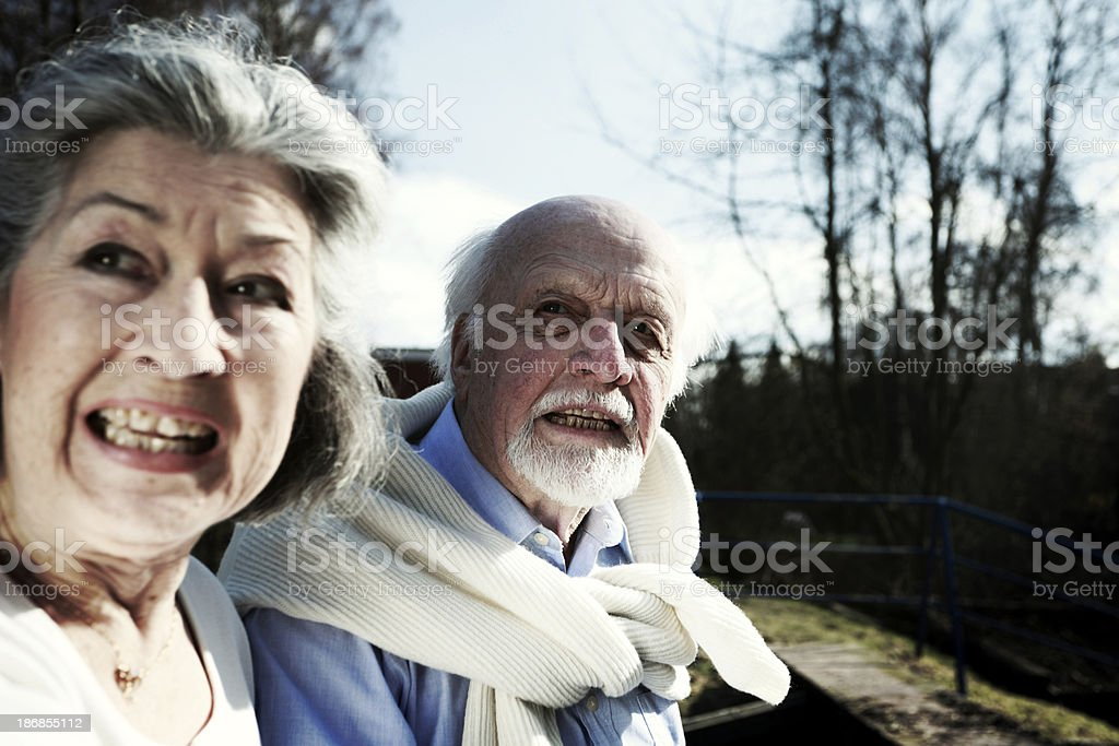 Scared People royalty-free stock photo