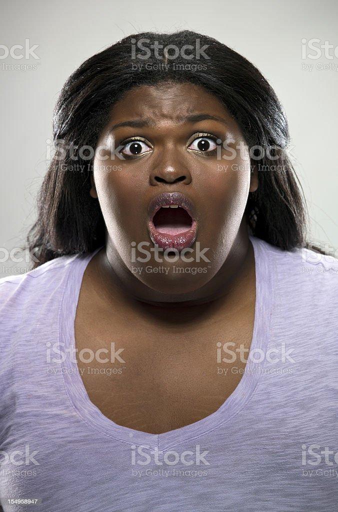 Scared stock photo