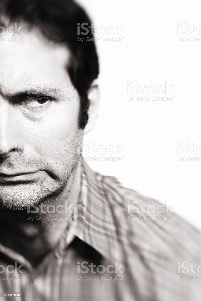 Scared stock photo