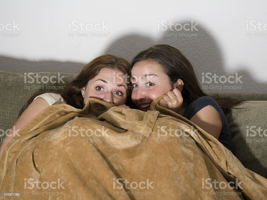 Scared. Seriously. royalty-free stock photo