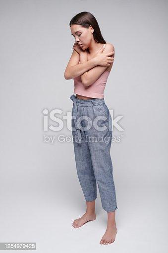Woman feeling unloved