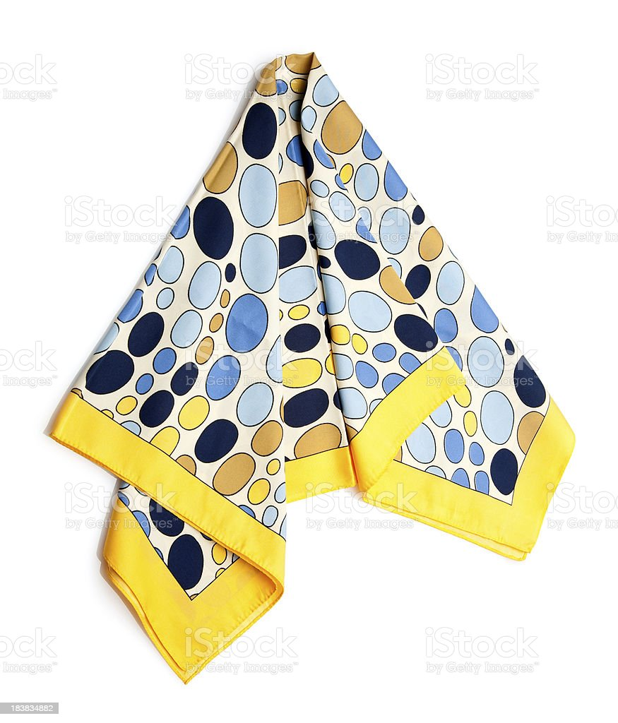 scarf royalty-free stock photo