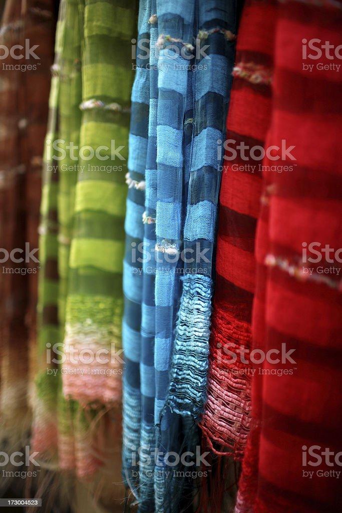 scarfs royalty-free stock photo