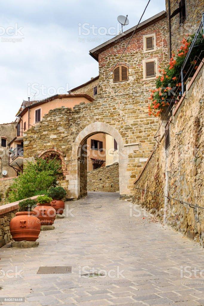 Scarlino, province of Grosseto, tuscany, italy stock photo