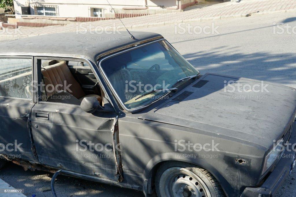 Scarp cars stock photo