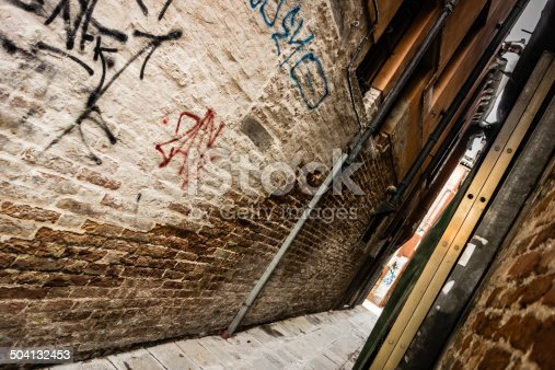 136699912 istock photo Scary alley 504132453