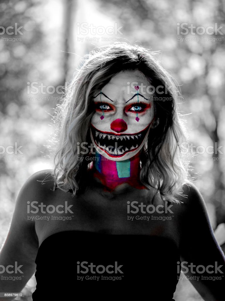 Scary Clown Stock Photo Download Image Now Istock
