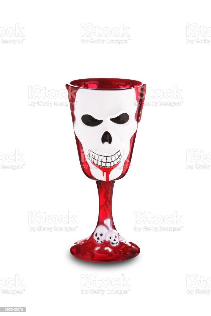 Scary cup zbiór zdjęć royalty-free