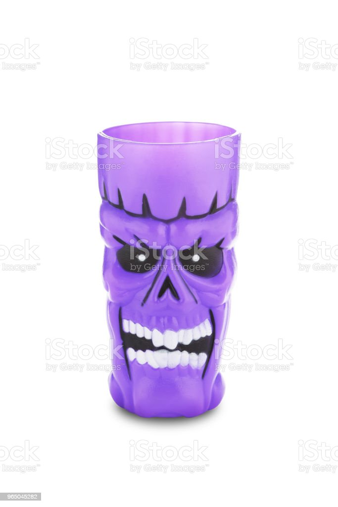 Scary cup royalty-free stock photo