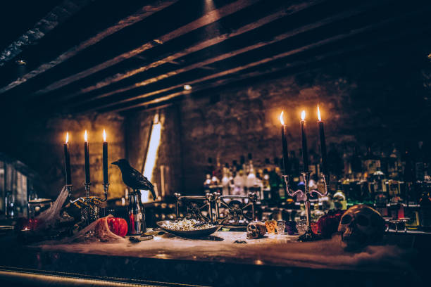 Scary decoration on table for halloween banquet picture id918992292?b=1&k=6&m=918992292&s=612x612&w=0&h=c4eenazdwgp1saejatssg3o5ru00j4wahapifotpuyc=