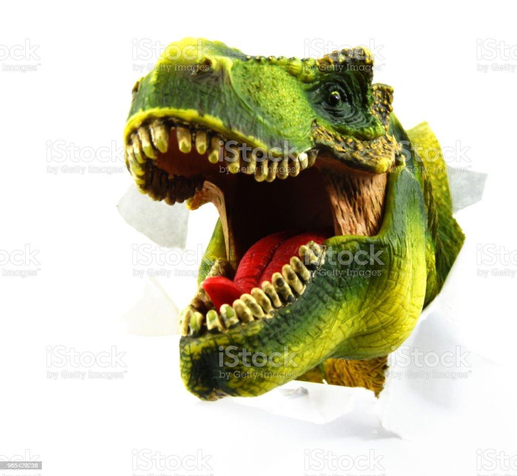 Scary Dinosaur zbiór zdjęć royalty-free