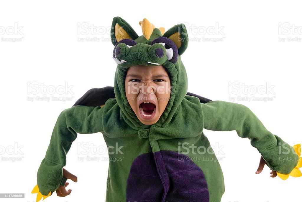 Scary Dragon royalty-free stock photo