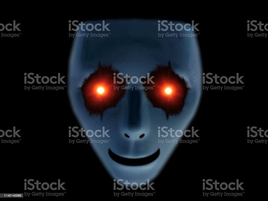 怖い 画像 顔