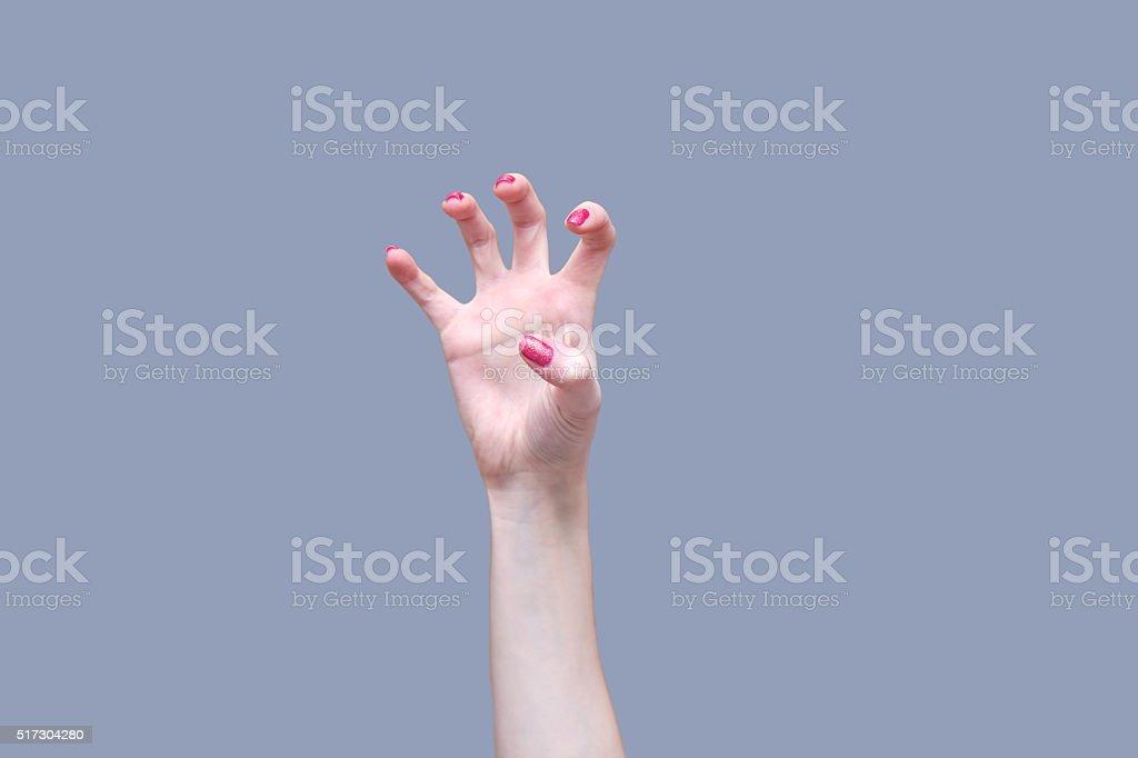 Unheimlich hand – Foto