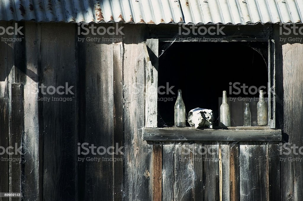 Scary House stock photo
