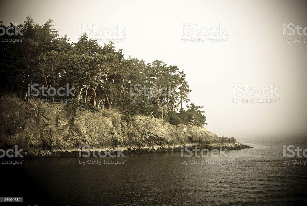 Scary Island royalty-free stock photo