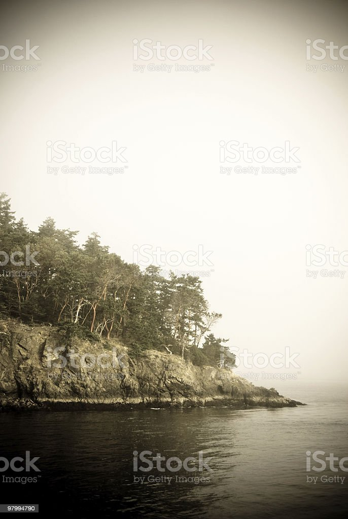 Scary Island royalty free stockfoto