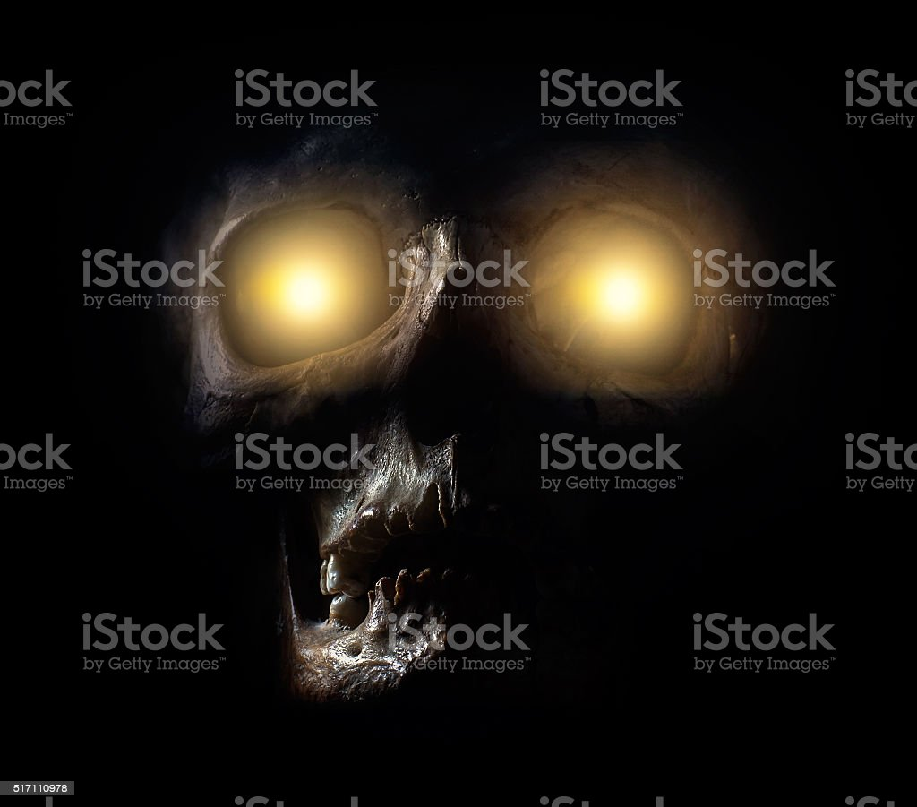 Scary monster stock photo
