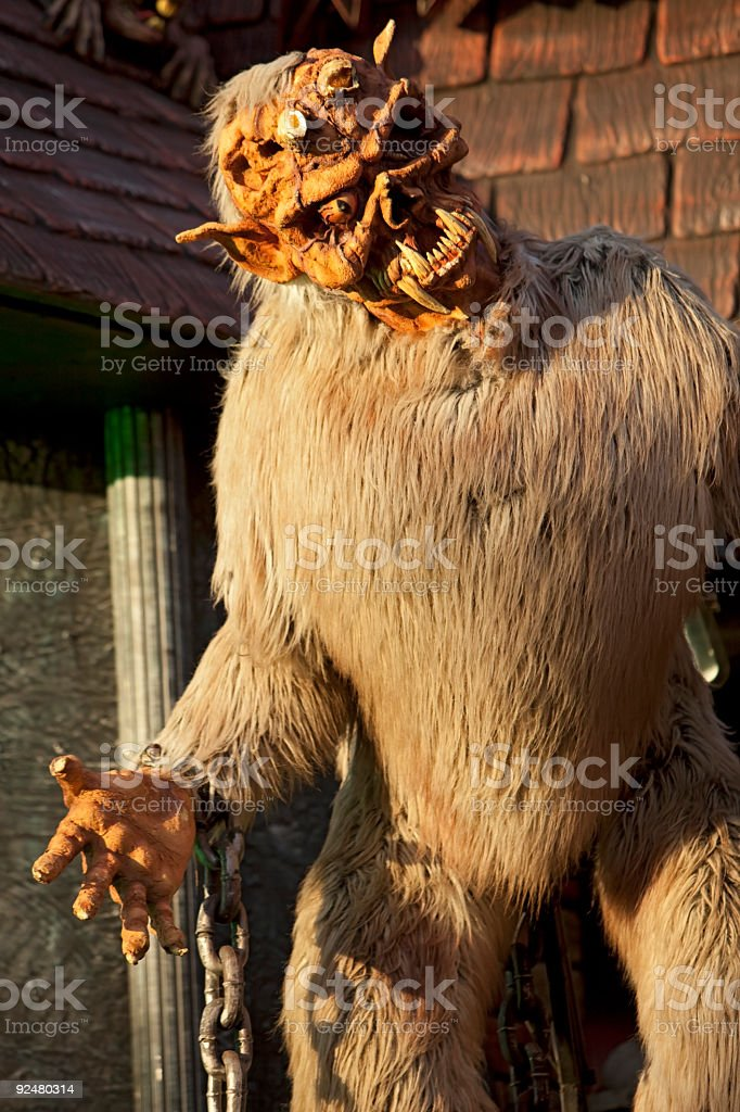 Scary monster royalty-free stock photo