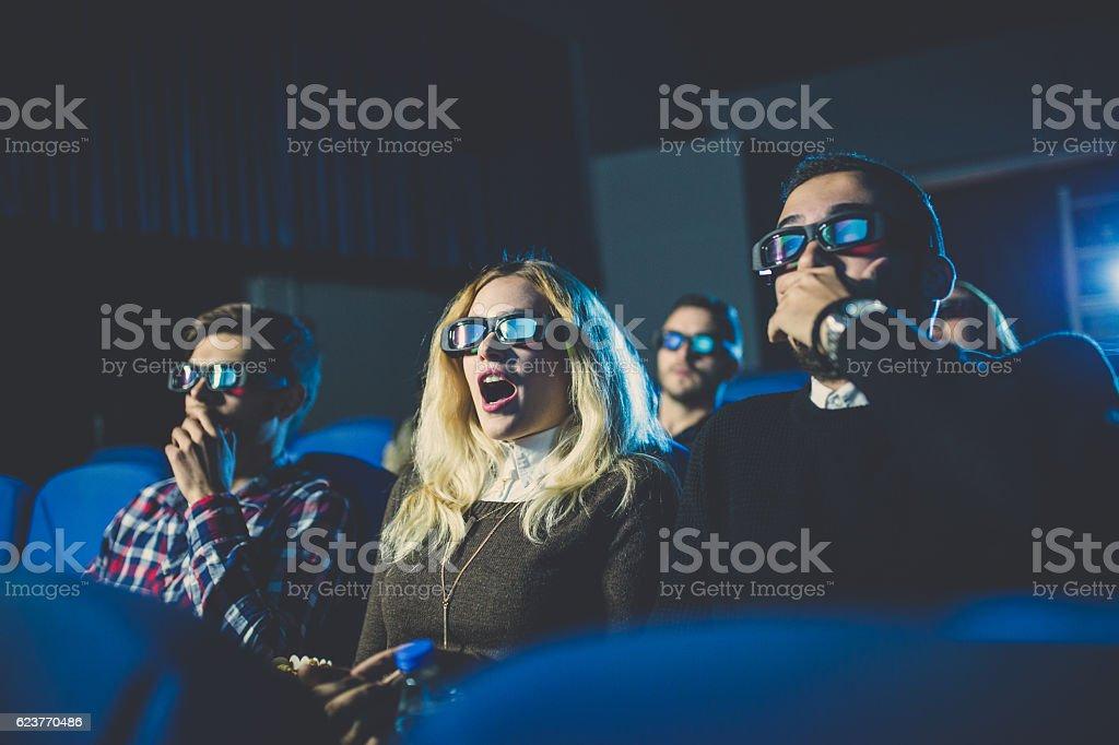 Scary movie stock photo