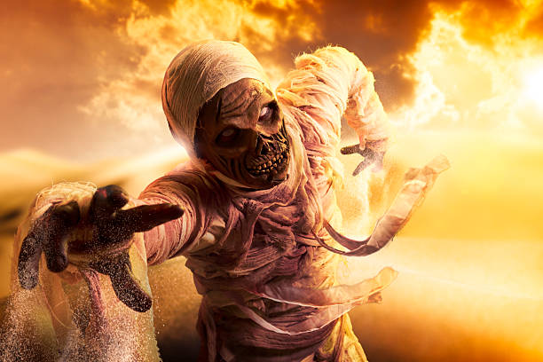 Scary mummy in a desert at sunset picture id490820799?b=1&k=6&m=490820799&s=612x612&w=0&h=rue1dzz0ifr34qjk5bb7edw76hspgvugs6yoy9iphzq=