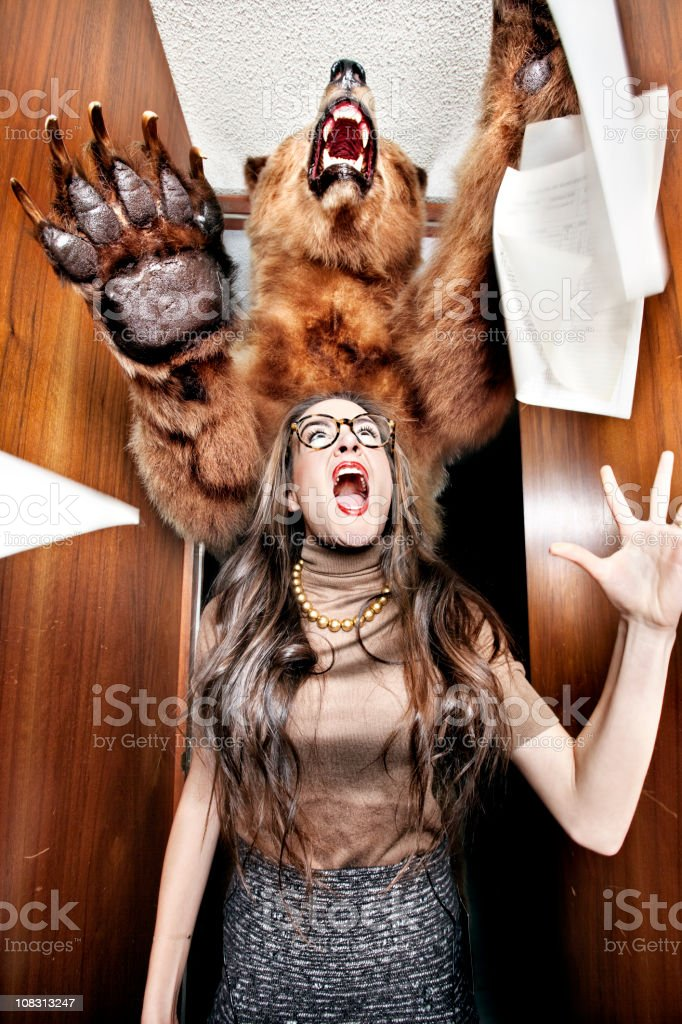 Scary Office royalty-free stock photo