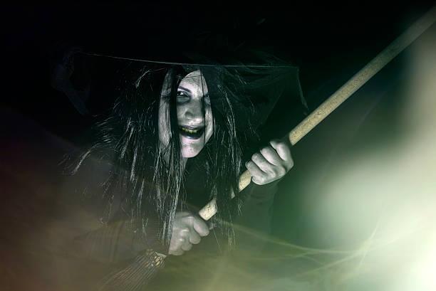 Scary de brujas - foto de stock