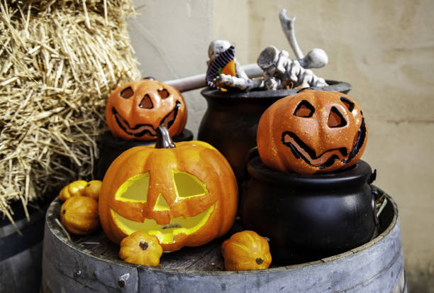 Royalty Free Happy Jack O Lantern Faces Pictures Images And Stock