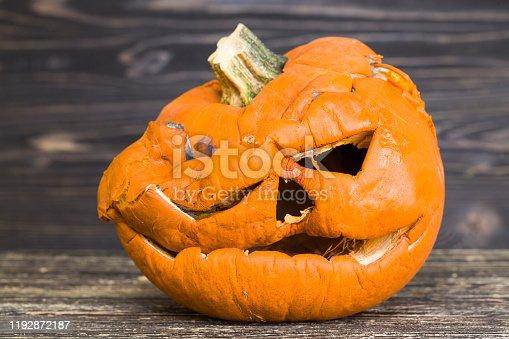 istock scary pumpkins 1192872187