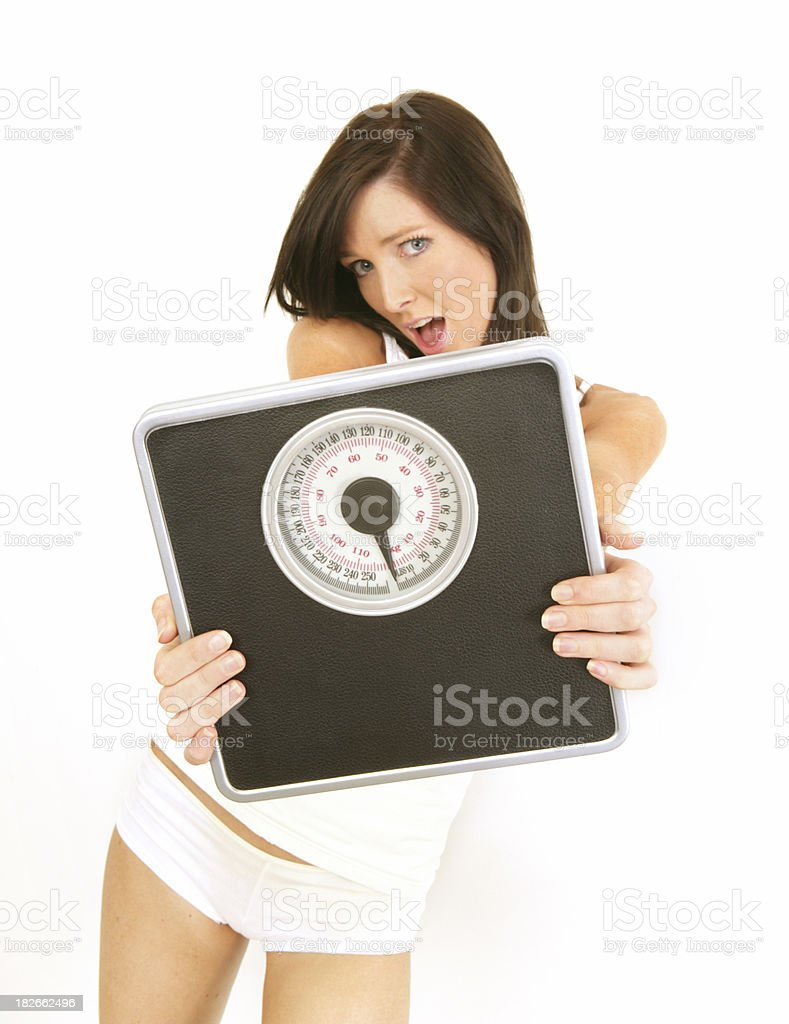 Scary Scales royalty-free stock photo