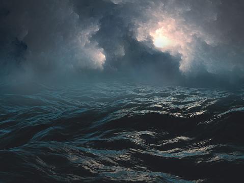Scary sea