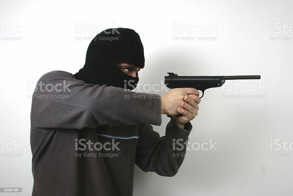 scary young man 3 royalty-free stock photo