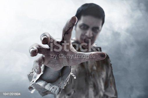 istock Scary zombie hand 1041201504