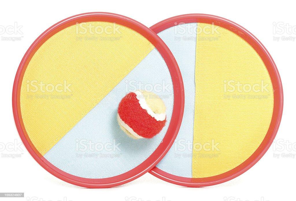 scatch sticky ball game stock photo