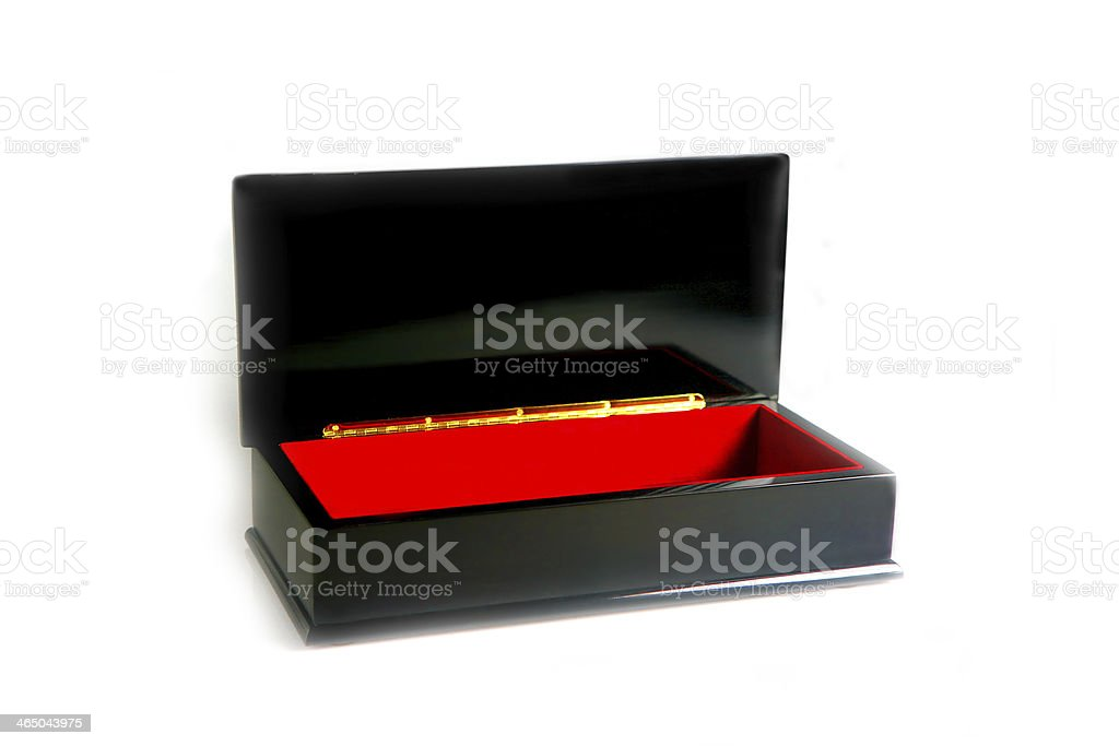 scatola nera stock photo