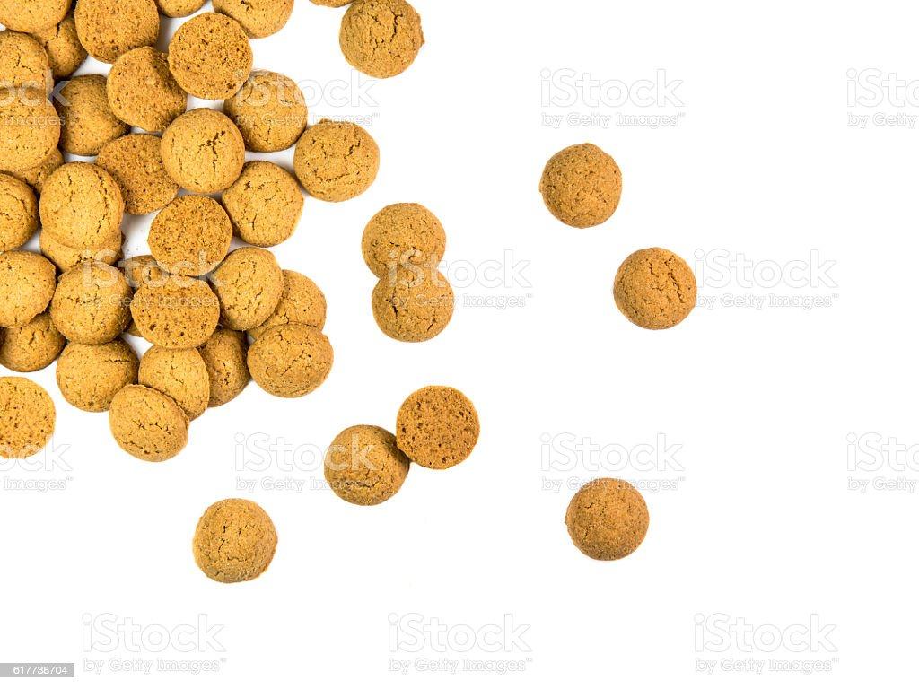 Scattered bunch of Pepernoten cookies - Royalty-free Culturen Stockfoto