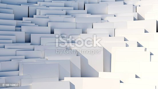 istock scattered cubes - 8k abstract background 516616807