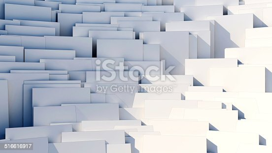 istock scattered cubes - 8k abstract background 516616917