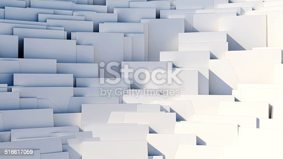 istock scattered cubes - 8k abstract background 516617059