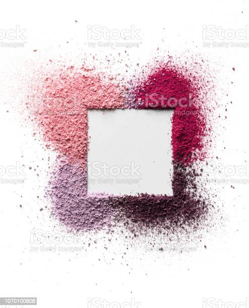 Scattered eyeshadow and blush for the face in the form of a square picture id1070100808?b=1&k=6&m=1070100808&s=612x612&h=eevod8dcvxojts108fhynehmex7daxp4xvjambyryym=