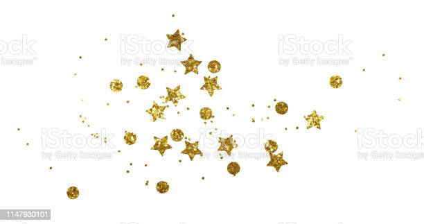 Photo of Scattered golden seqines and stars