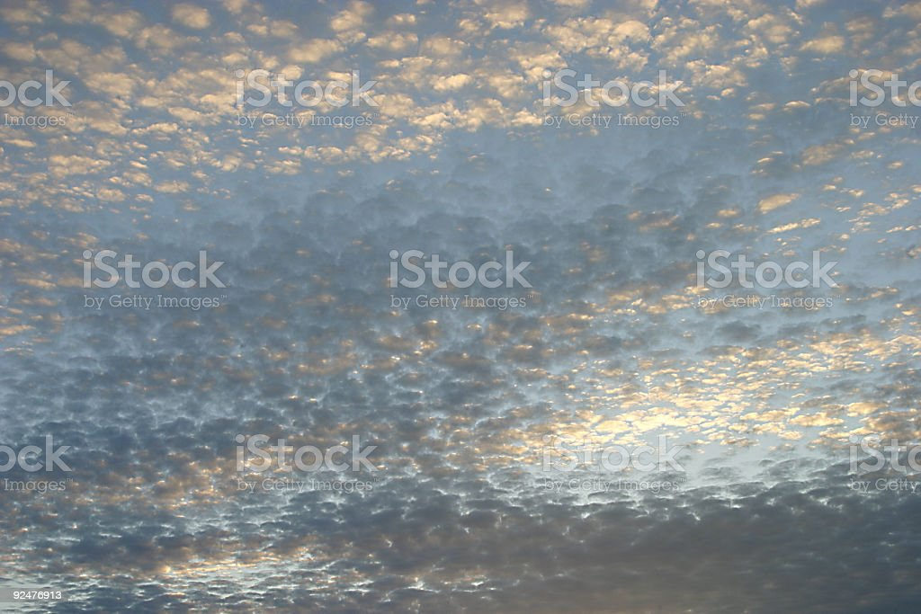 Scattered Skies 2 royalty-free stock photo