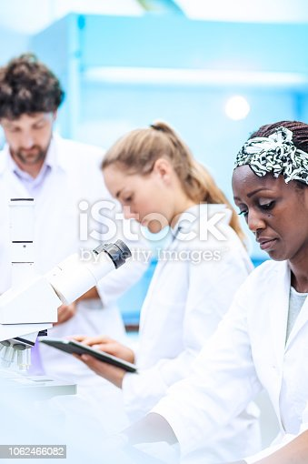 Sceintists Working in The Laboratory