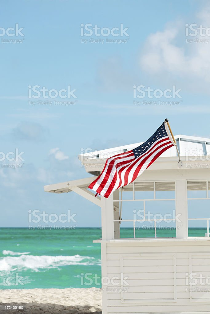 Scence at South Beach, Miami Florida USA royalty-free stock photo