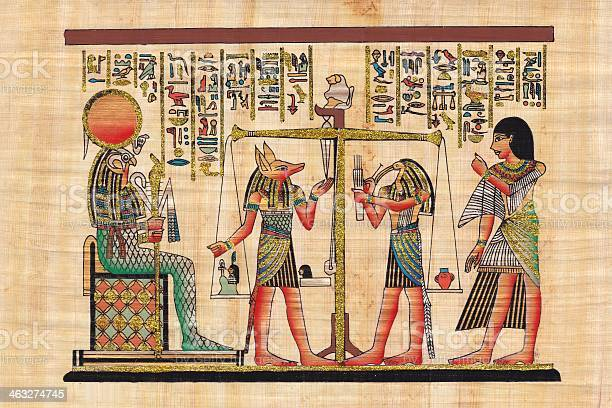 Scene from afterlife ceremony painted on papyrus picture id463274745?b=1&k=6&m=463274745&s=612x612&h=xreugrto vqp swkwuu9ncnudmtqy02c8pgk3 blhik=