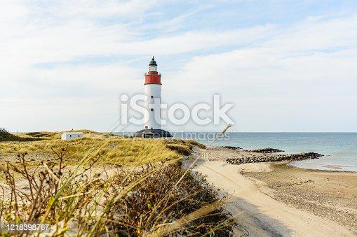 istock scene from the idyllic island of anholt located in the danish sea Skagerak. 1218398767