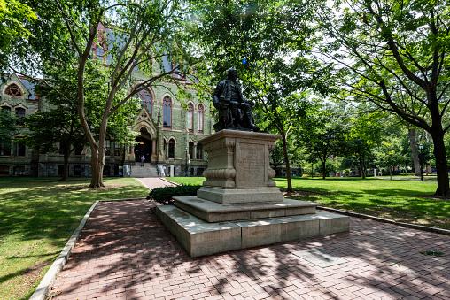 Scene in the University of Pennsylvania campus
